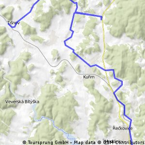 2010 06 19  Přes Kuřim a Rohozec do Tišnova
