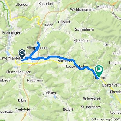 Easy ride in Sankt Kilian