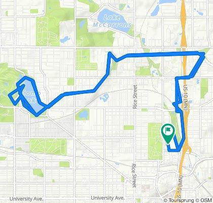 138 Sims Ave, Saint Paul to 911 Agate St, Saint Paul