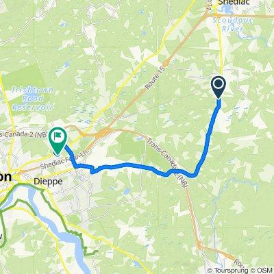 3254 Route 132, Shediac to 90 Sir Lancelot Dr, Moncton