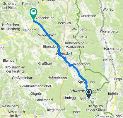 Steady ride in Bad Blumau