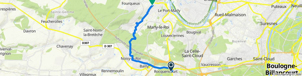 Easy ride in Mareil-Marly