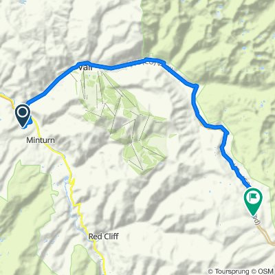 Route from Meadow Mountain, Basalt