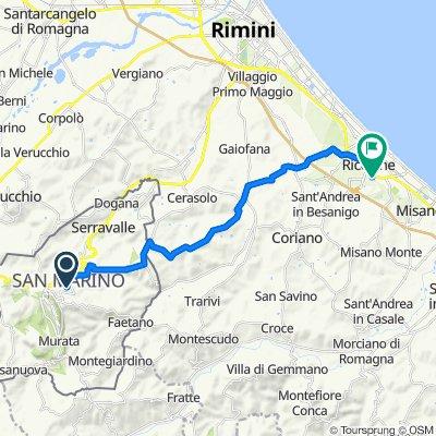 San Marino-riccione