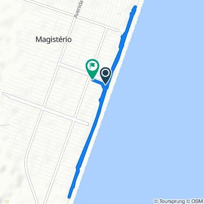 Moderate route in Balneário Pinhal