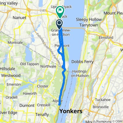 1079 Route 9W S, Nyack to 95 S Franklin St, South Nyack
