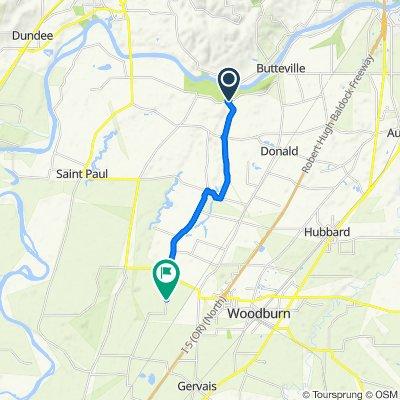 9144–9222 Champoeg Rd NE, Aurora to 15924 Arbor Grove Rd NE, Woodburn