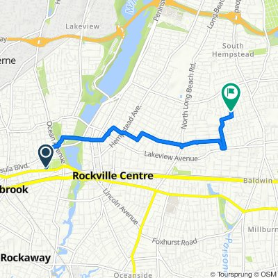Restful route in North Baldwin