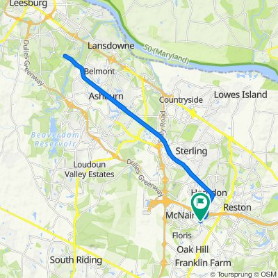 2366 Woodland Pond Ln, Herndon to 2366–2398 Woodland Pond Ln, Herndon