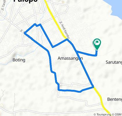 Restful route in Kota Palopo