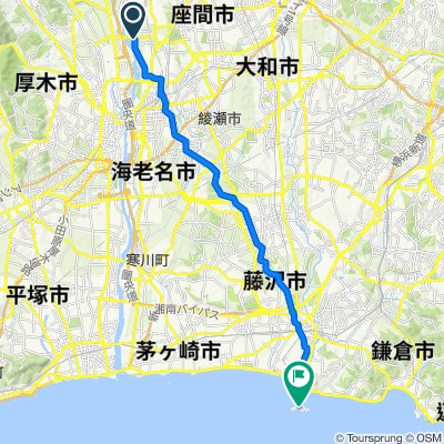 Shindenjuku, Zama-Shi to Enoshima 1-Chōme, Fujisawa-Shi