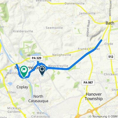 Easy ride in Northampton