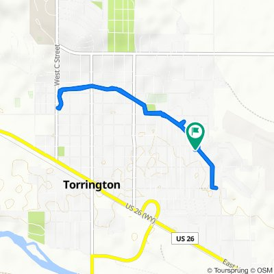 Slow ride in Torrington