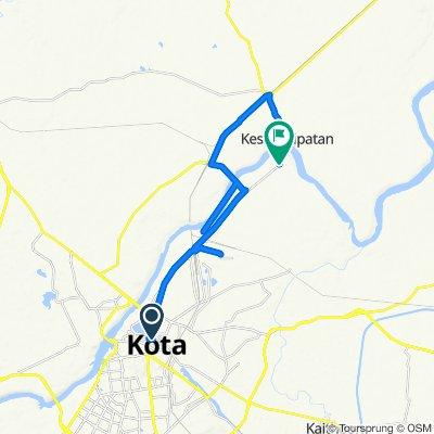 Shiv Road, Kota to Unnamed Road, Rangpur
