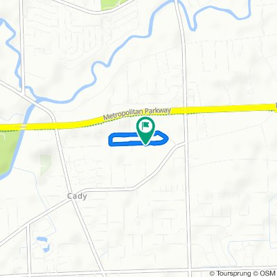 Moderate route in Clinton Township