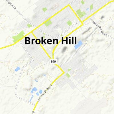 Slow ride in Broken Hill
