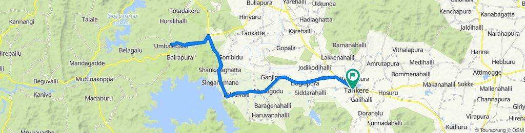 Slow ride in Tarikere