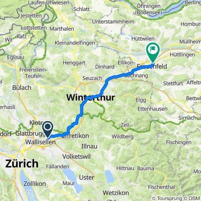 Gerenstrasse 8A, Dietlikon nach Wydenstrasse 20, Frauenfeld