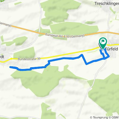Relaxed route in Bad Rappenau