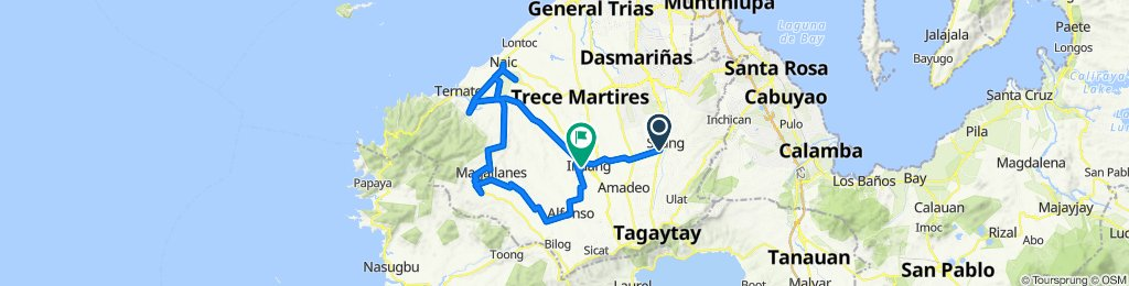 Emilio Aguinaldo Highway 7180, Silang to Kaytambog, Indang