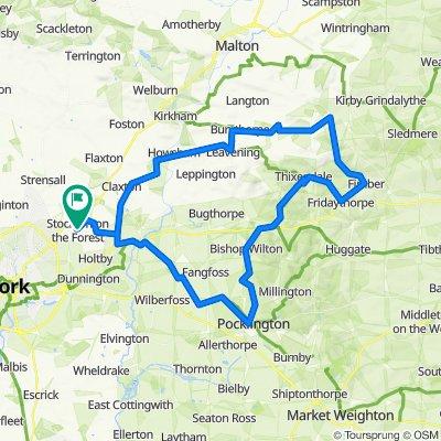 Crosslands, Sandy Lane, York to The Lawns, Sandy Lane, York