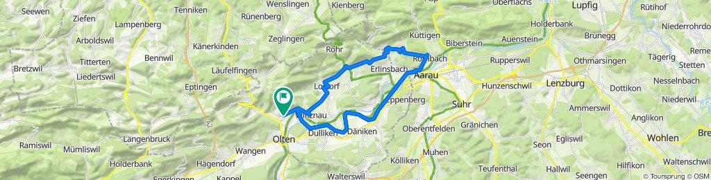 Lostorf,Küttigen, Aarau,Trimbach