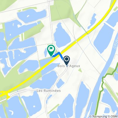 Easy ride in Longueil-Sainte-Marie