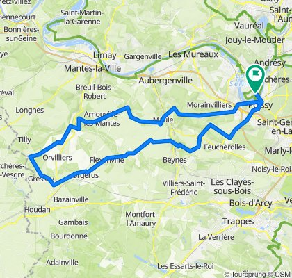 Boissets 95 km