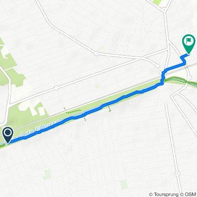 Itinéraire modéré en Mitry-Mory