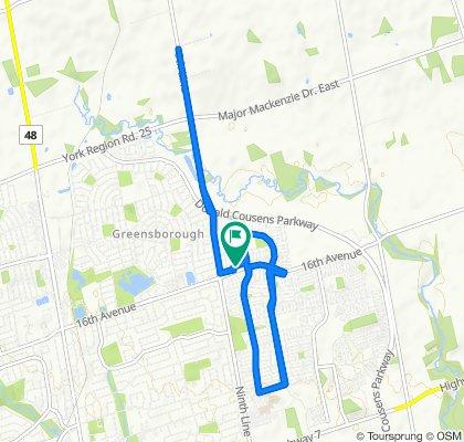 Easy ride in Markham