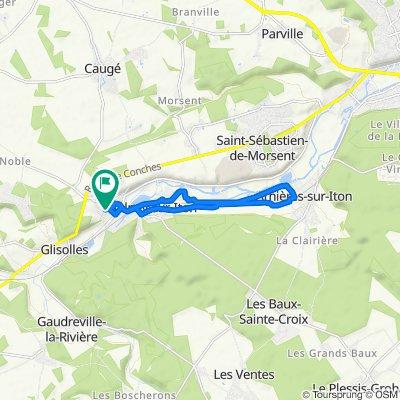 10km girls loop la bonneville