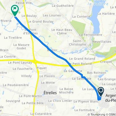 Itinéraire modéré en Vitré