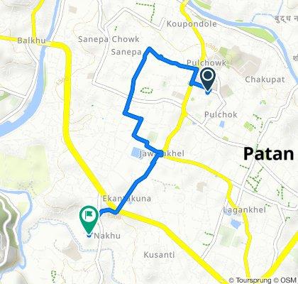 Route from Krishna galli, Kathmandu
