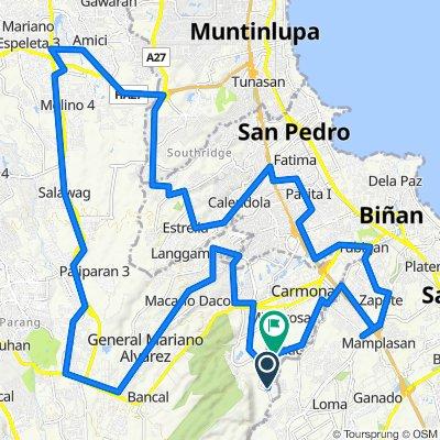 Unnamed Road, Carmona to Calumpang Road 1331, Carmona