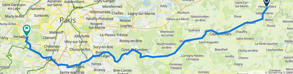Hondevilliers - Versailles Sud