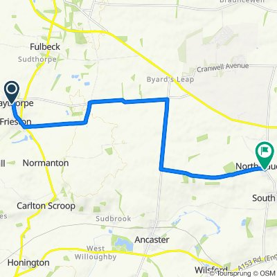 Easy ride in Grantham