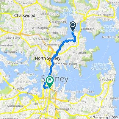 76–94 Bay Street, Mosman to 46C Young Street, Sydney