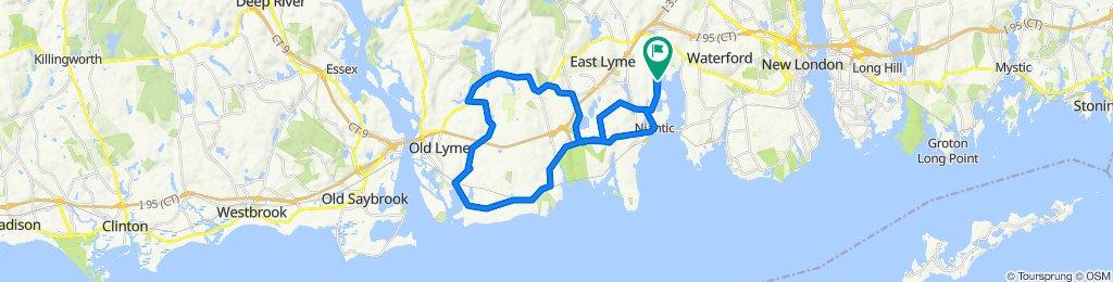 Old Lyme detour