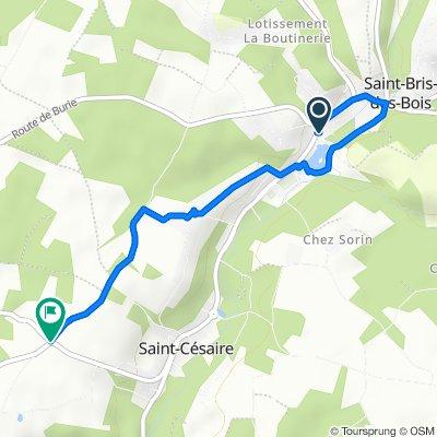 Easy ride in La Chapelle-des-Pots