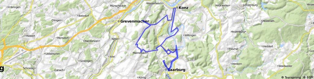 Saarburg Konz Saarburg