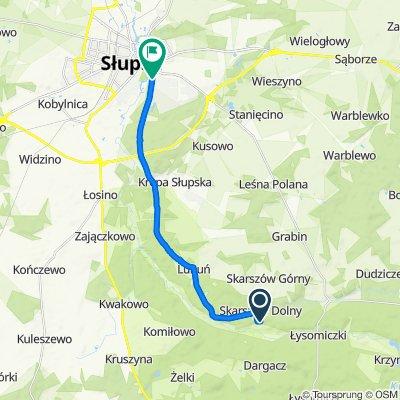 Unnamed Road to Arciszewskiego 01, Słupsk