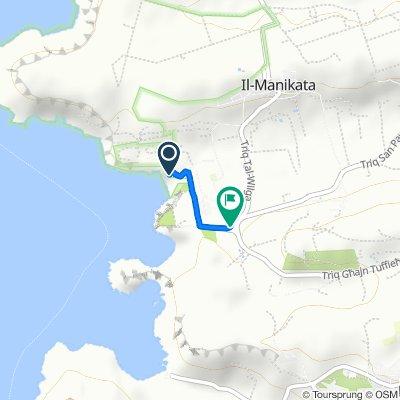 Route to Triq Għajn Tuffieħa, Mgarr