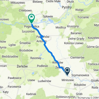 Sporty route in Września