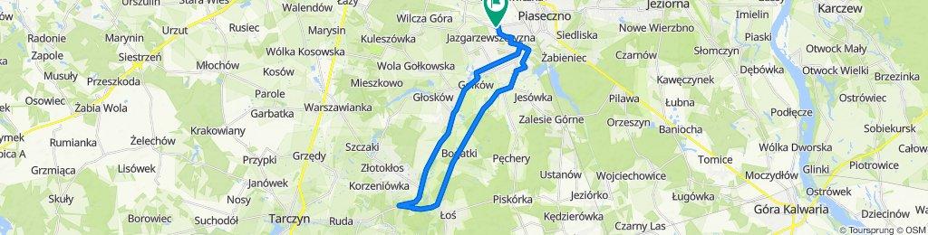 Orężna 21, Piaseczno do Orężna 19, Piaseczno