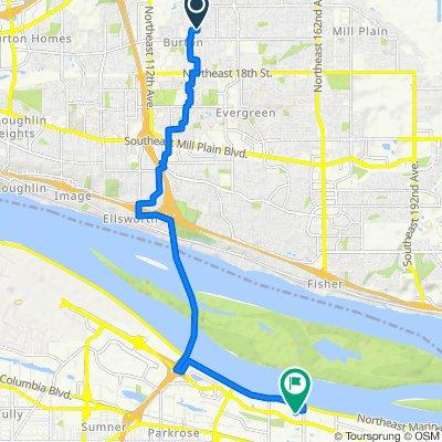 Slow ride in Portland