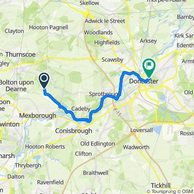 5 Mill Lane, Doncaster to 72 Broxholme Lane, Doncaster