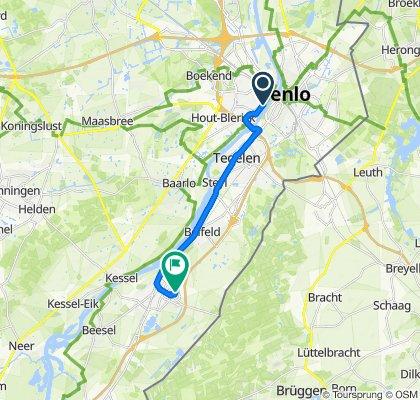 De Staaiweg 4–26, Venlo nach Sint Jozefweg 19, Reuver
