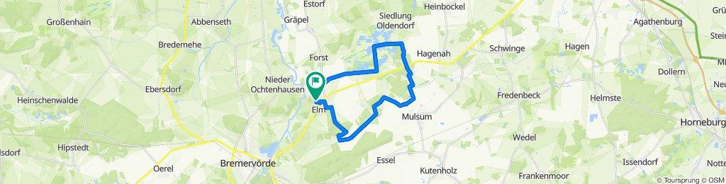 Steady ride in Bremervörde
