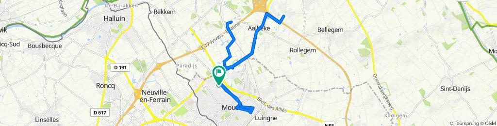 De Rue de Menin 415, Mouscron à Clos Eléa, Mouscron