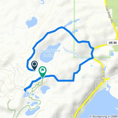 453 Kinnikinnick Rd, Granby to 1415 Golf Course Aka, Granby